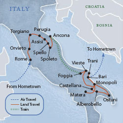 Italy Rome Umbria Puglia 13 Days The Best With Style