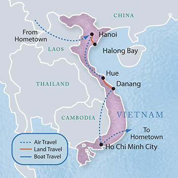 Vietnam with Luxury & Style (10 Days): A Sample Itinerary