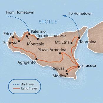 Сицилия за 10 дней