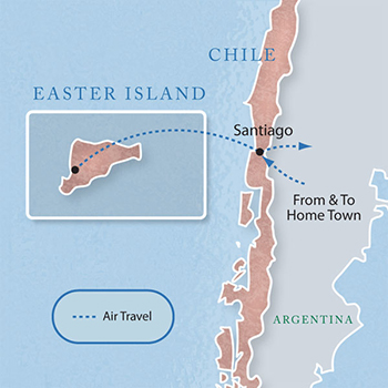 Easter Island Chile With Luxury Style Days Maps Luxury - Easter island map
