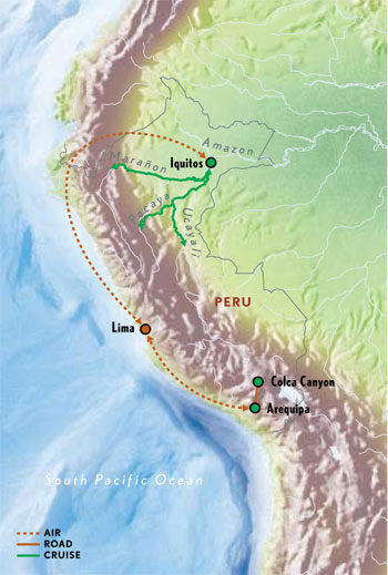 Peru Amazon River Amp Colca Canyon With Luxury Amp Style 10
