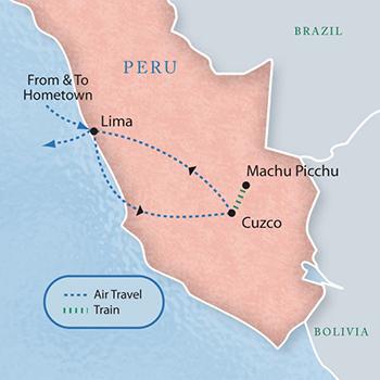 Machu Picchu Peru With Luxury Style Days A Sample - Where is lima